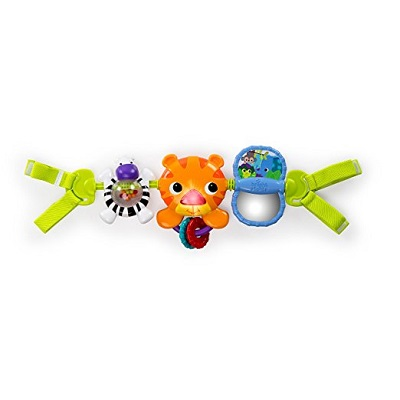 4. Bright Starts Take Along Carrier Toy Bar