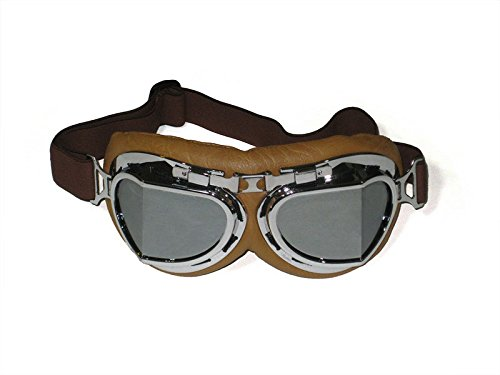 9. CRG Sports Vintage Motorcycle Goggles