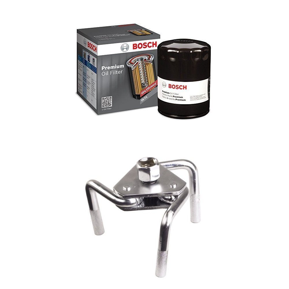 4. Bosch Oil Filter with Wrench