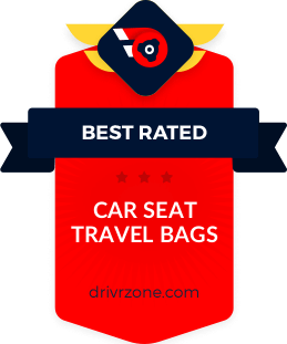 10 Best Car Seat Travel Bags Reviewed & Rated in 2021