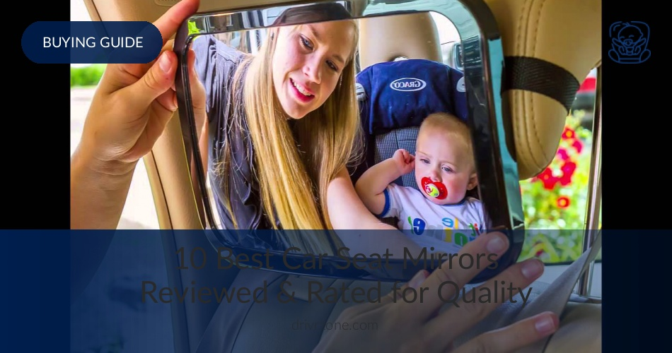 Baby Baby Safety & Health Baby Back Seat Mirror View Rear Facing Infant In Backseat~crash Tested Best Elegant Shape