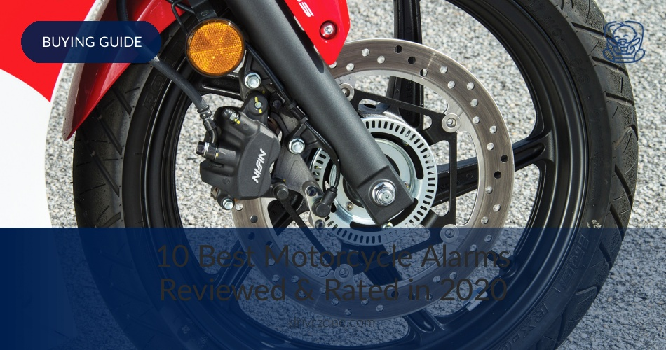 Best Motorcycle Alarms Reviewed & Rated in 2019 | DrivrZone com